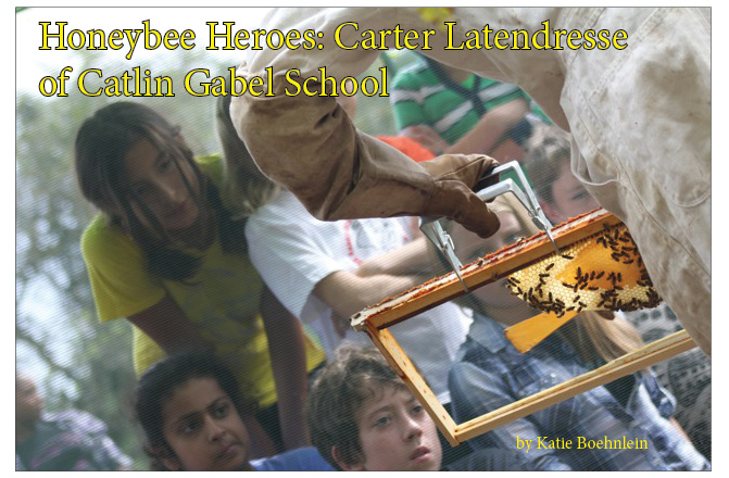 Honeybee Heroes: Carter Latendresse at Catlin Gabel School