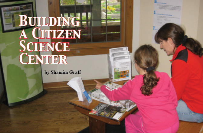 Building a Citizen Science Center: A Framework
