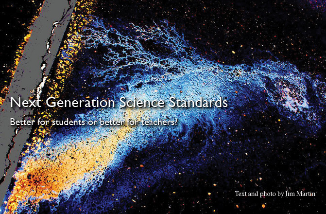 Next Generation Science Standards: