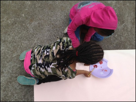 Figure 5: Learning gardens also provide numerous opportunities for arts integration.