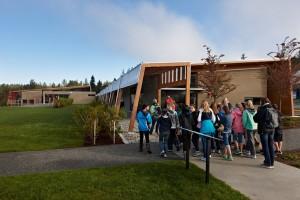 Students enter BrightwaterCenter