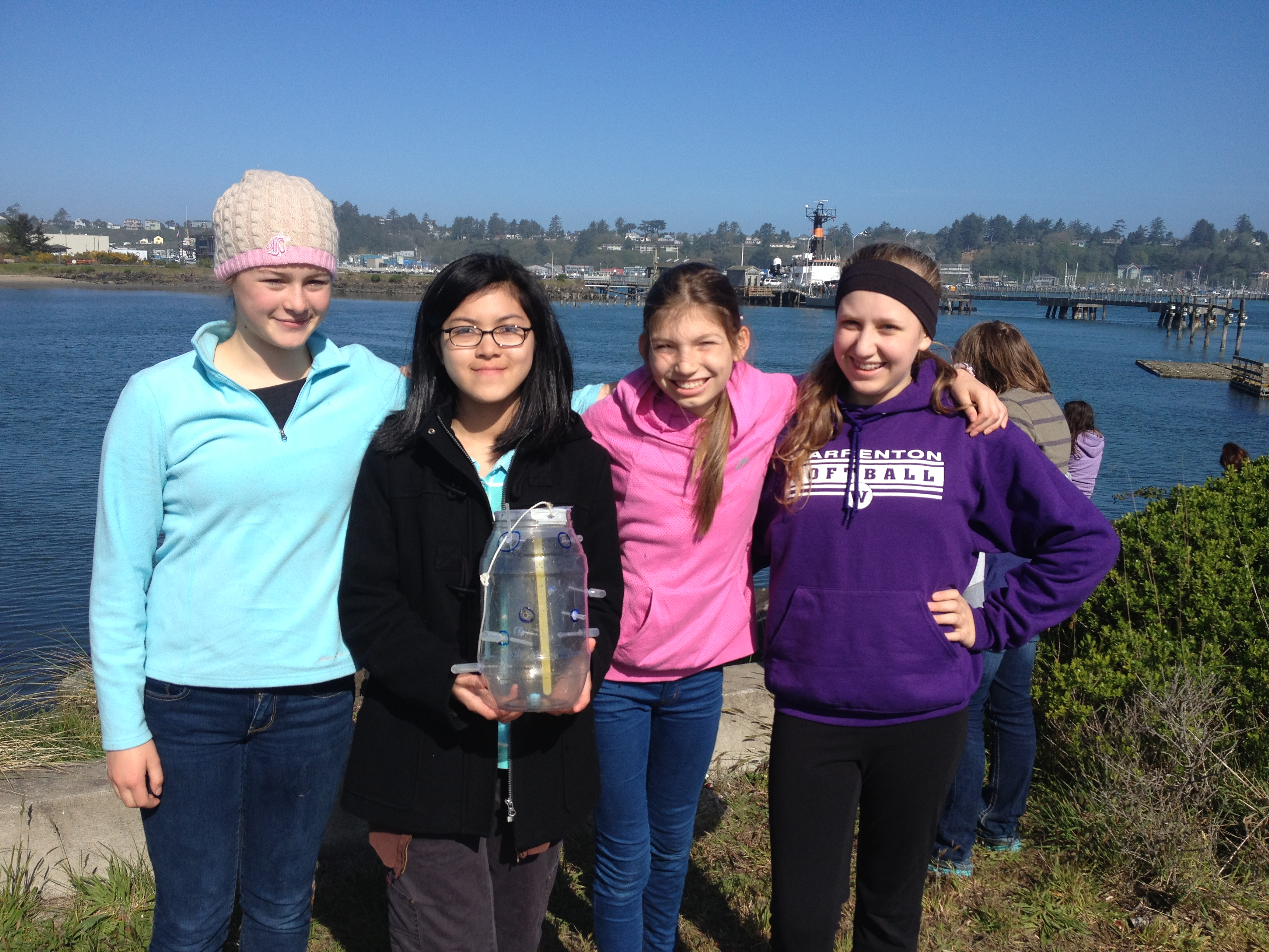 Girls in Engineering and Marine Science